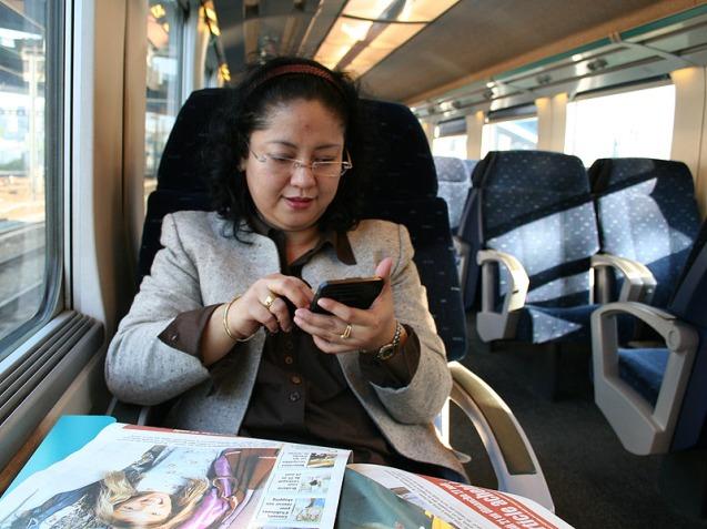 Suasana dalam TGV