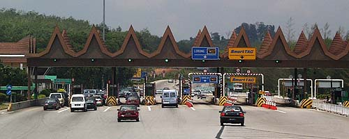 Tol KL - Melaka, Malaysia