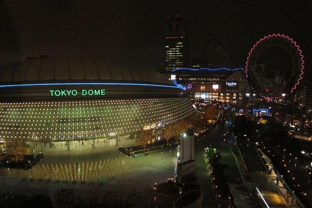 """Tokyo Dome dari Jendela """"Tokyo Dome Hotel (lantai 12)"""""""