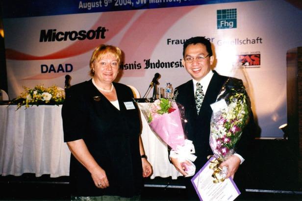 DAAD-Fraunhofer Technopreuneur Award 2004