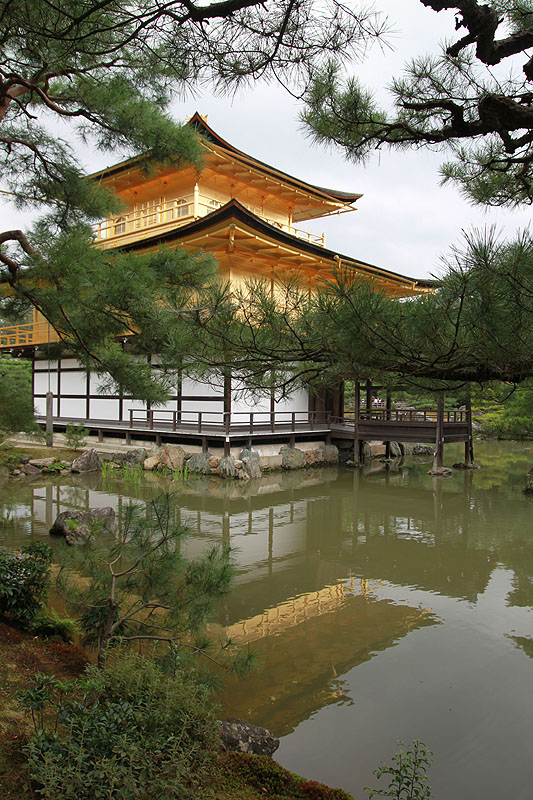 Sisi lain Kinkaku-ji