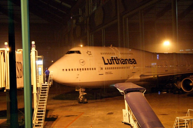 Jakarta Singapura Berlin bersama Lufthansa