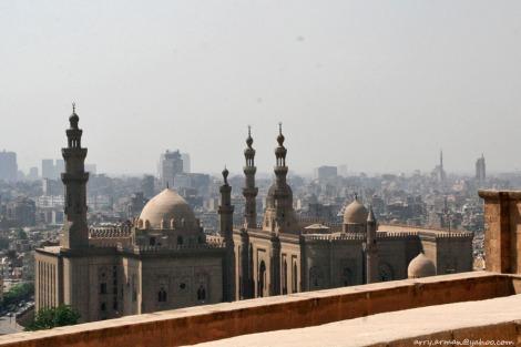 Masjid Al Hasan dilihat dari Citadel