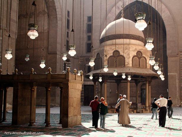 Bagian terbuka di dalam Masjid (foto favorit saya)