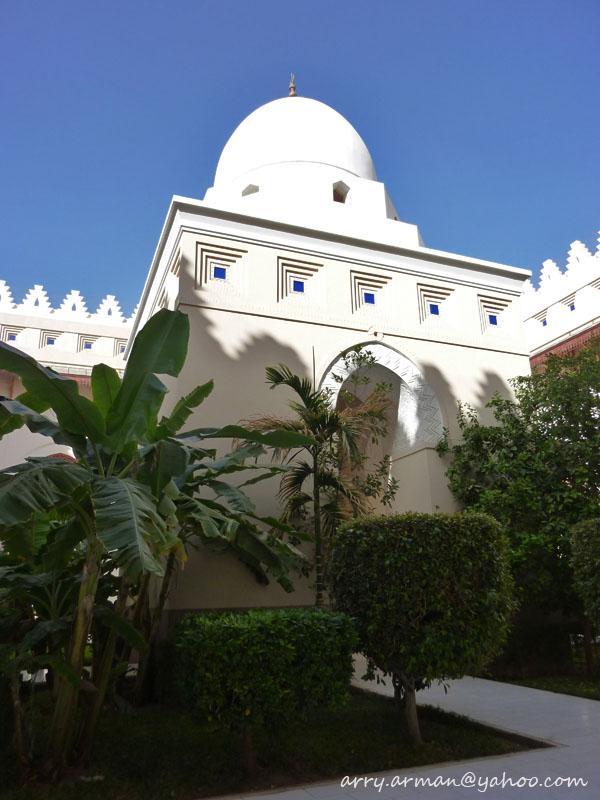 Kubah Masjid Bir Ali